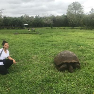Melike O in Ecuador